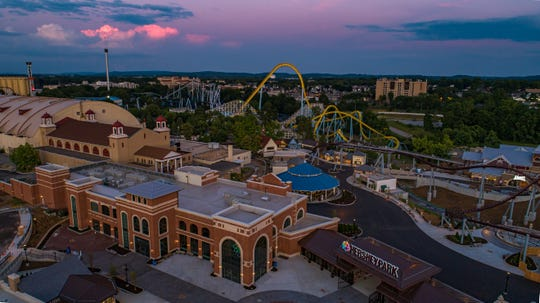 Hersheypark is one of first amusement parks in Pennsylvania to open and people couldn't wait to enjoy the attractions, July 9, 2020.