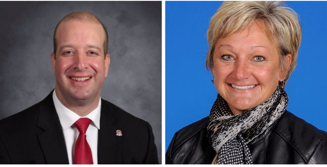 Matthew Sheridan has been named superintendent and Nan Nolder treasurer at Mid-East Career and Technology Centers