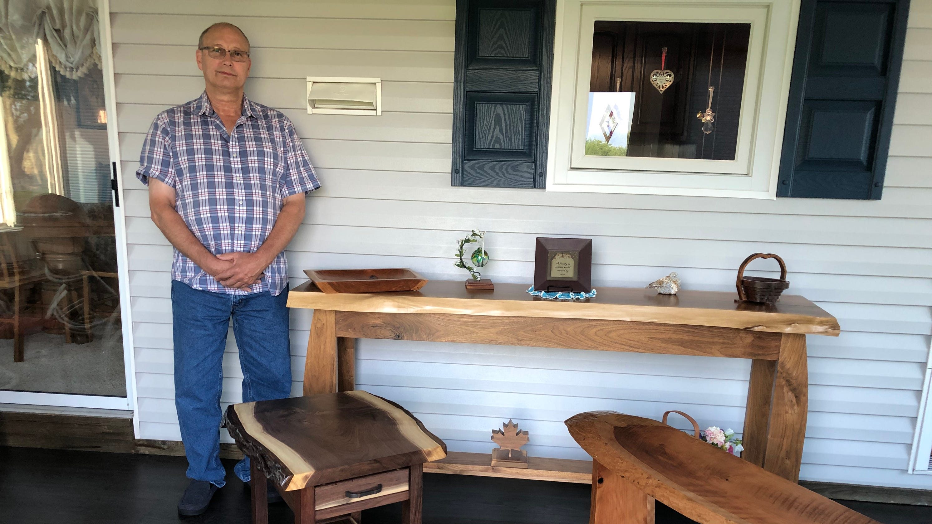 Woodworking hobby keeps Hambel busy in retirement