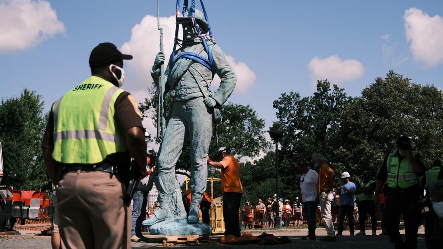 United or Divided States of America? 6 ways to think about removing Confederate statues