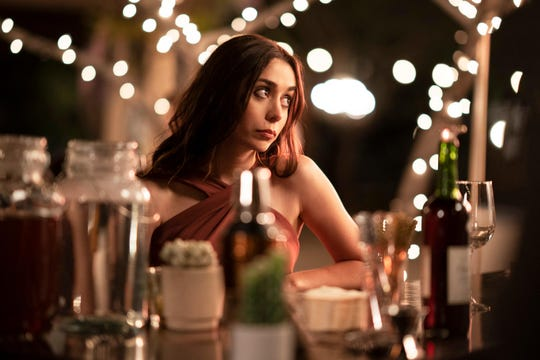 """Cristin Milioti stars as a cynical maid of honor who gets stuck in a time loop at her sister's wedding in """"Palm Springs."""""""
