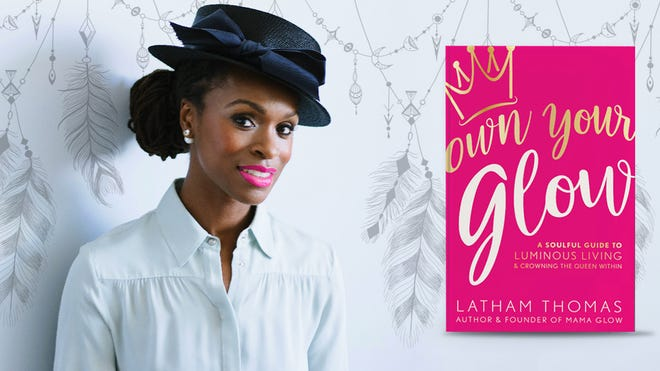 Latham Thomas, author of Own Your Glow: A soulful guide to luminous living and crowning the queen within