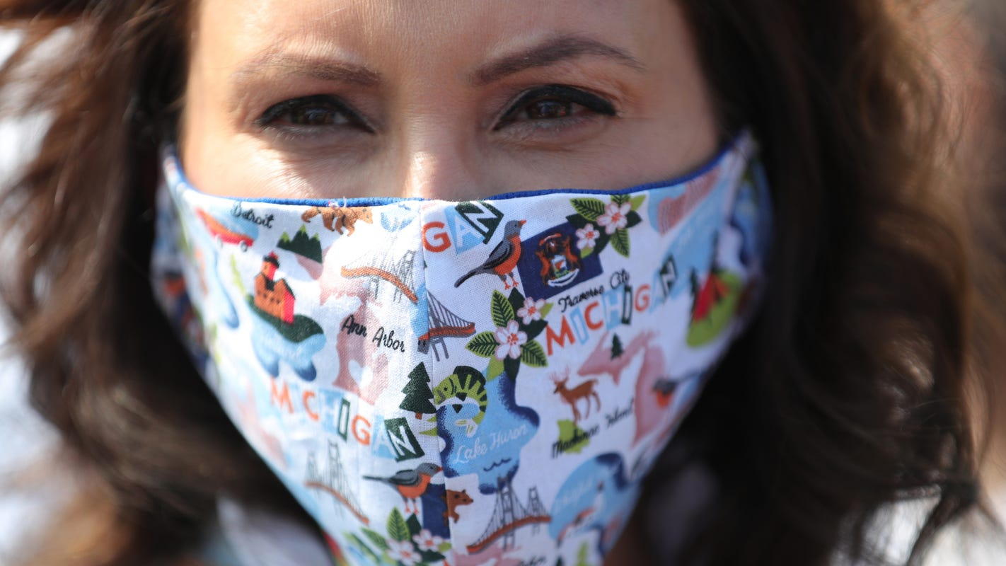 Whitmer: 4 million free masks are on the way for Michigan residents