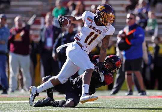 JaCorey Sullivan and Central Michigan were supposed to play two games against the Big Ten this season.