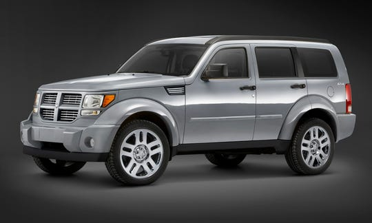 FCA is recalling more than 1.2 million older minivans and SUVs, including the 2007 Dodge Nitro, shown.