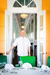 Michael Cerrie,  new executive chef of the Grand Hotel