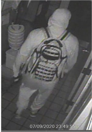 Brown County law enforcement are looking for a person suspected of breaking into Dairy Queen restaurants in Ashwaubenon and Howard.