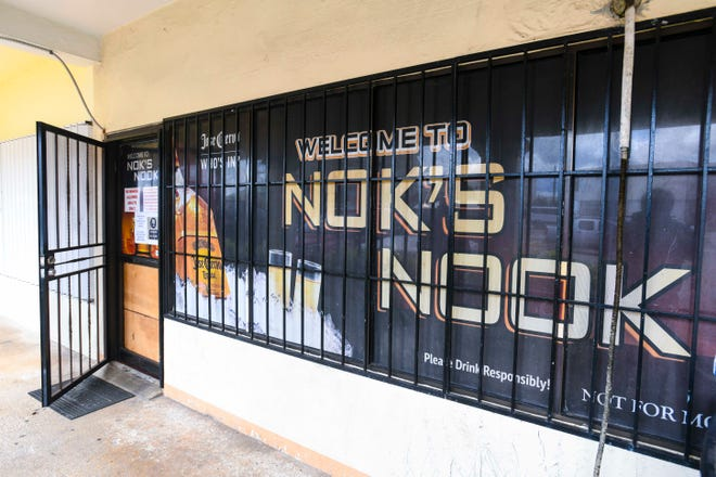 Nok's Nook bar, located at the Cinema Plaza in Tamuning, prepares to reopen on July 10, 2020, after being closed by the Department of Public Health and Social Services inspectors on July 7.