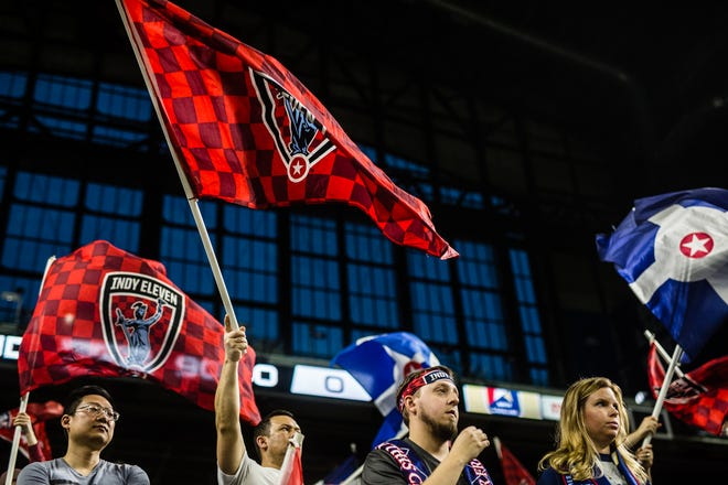 Indy Eleven restarts its season Saturday with a home game against Saint Louis FC. Fans will be socially-distanced and masks are mandatory.
