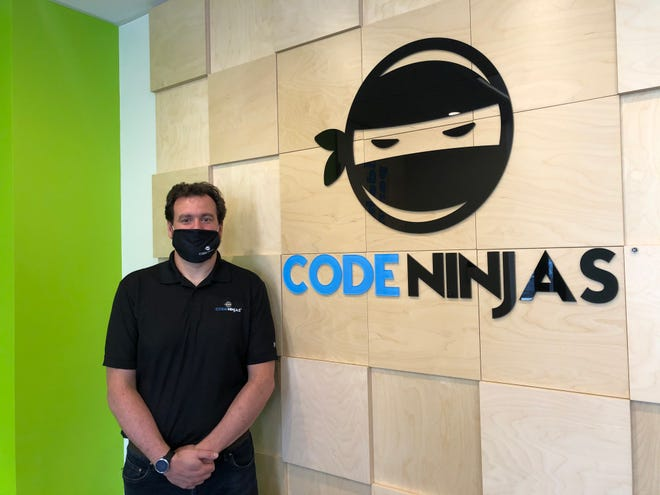 Mark Schwabe is the owner of Code Ninjas, 3815 N. Brookfield Road, Brookfield.