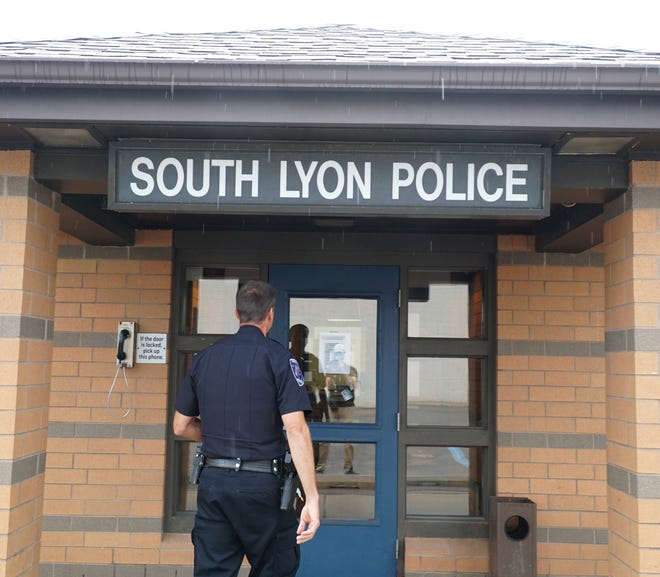 The South Lyon Police Department on Whipple Street in the city.