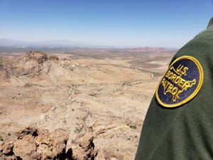 Border Patrol agent in the Yuma Sector.