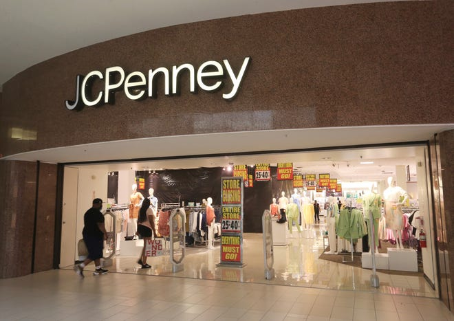 The JC Penney inside the Poughkeepsie Galleria on July 10, 2020.