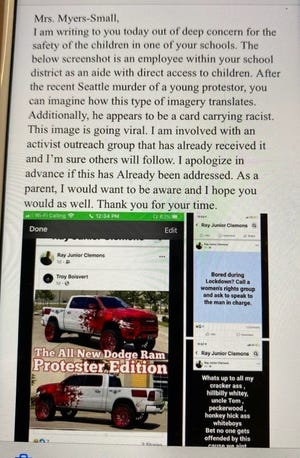 A series of offensive Facebook posts by RCSD special education aide Raymond Clemons Jr.