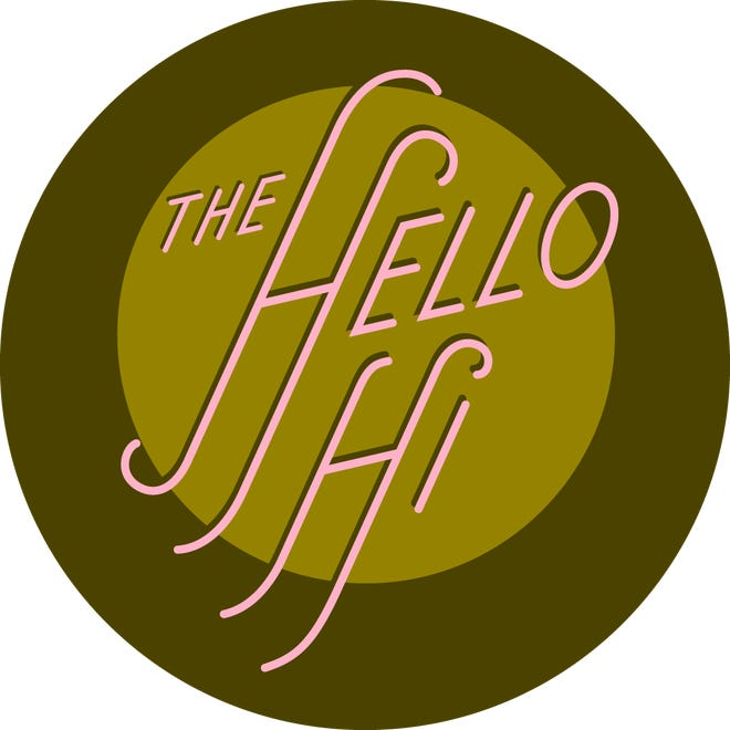 The Hello Hi logo