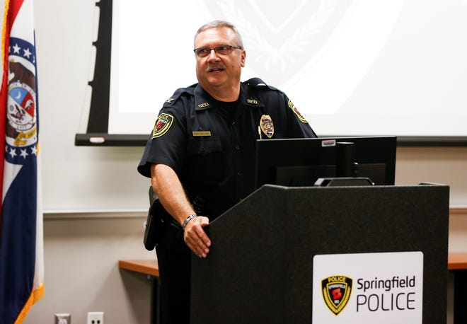 Springfield Police Chief Paul Williams said there have been consecutive police academy classes with lots of open seats.