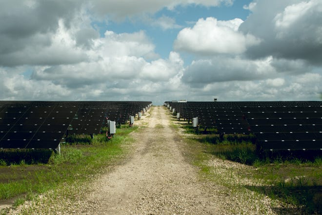 The completion of the city's second solar farm near the airport last January added 42 more MWac of generation capacity,