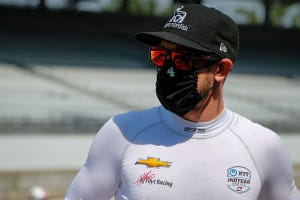 Camarillo native Charlie Kimball has returned to racing during the COVID-19 pandemic, even with higher risk for complications from coronavirus due to type 1 diabetes.