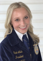 Section 6 State FFA Officer Olivia Lulich