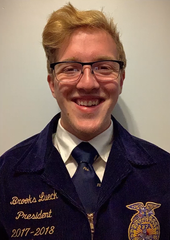 Section 5 State FFA Officer Brooks Lueck