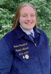 Section 1 State FFA Officer Jackie Rosenbush