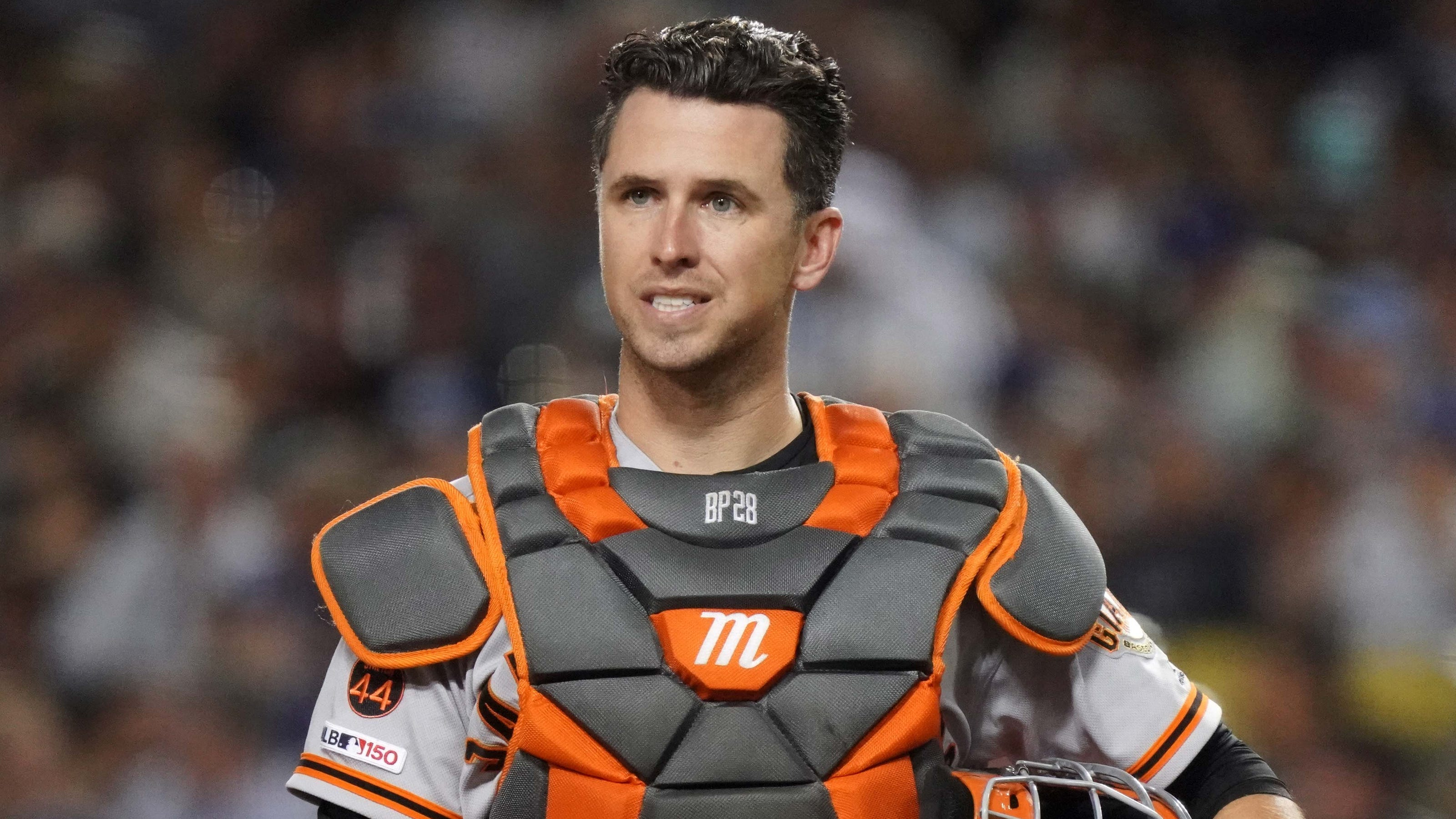 After concussion test, Giants Buster Posey cleared to play