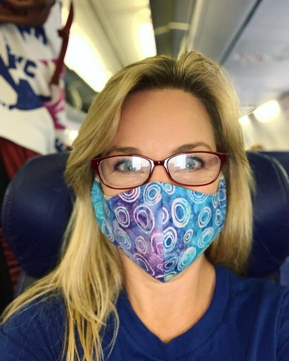 Mask safety on airplanes in 2020