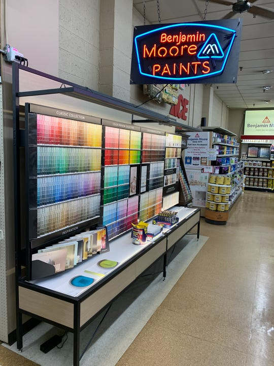 Paints have been extremely popular at Post Ace Hardware in Somerville.