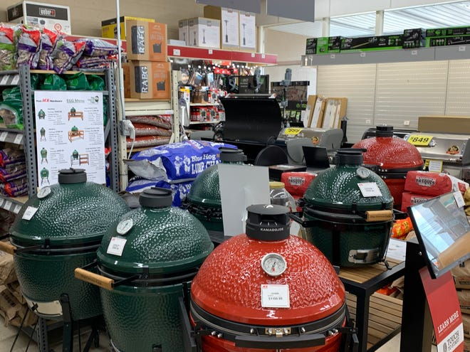 Grills have been extremely popular at Post Ace Hardware in Somerville.