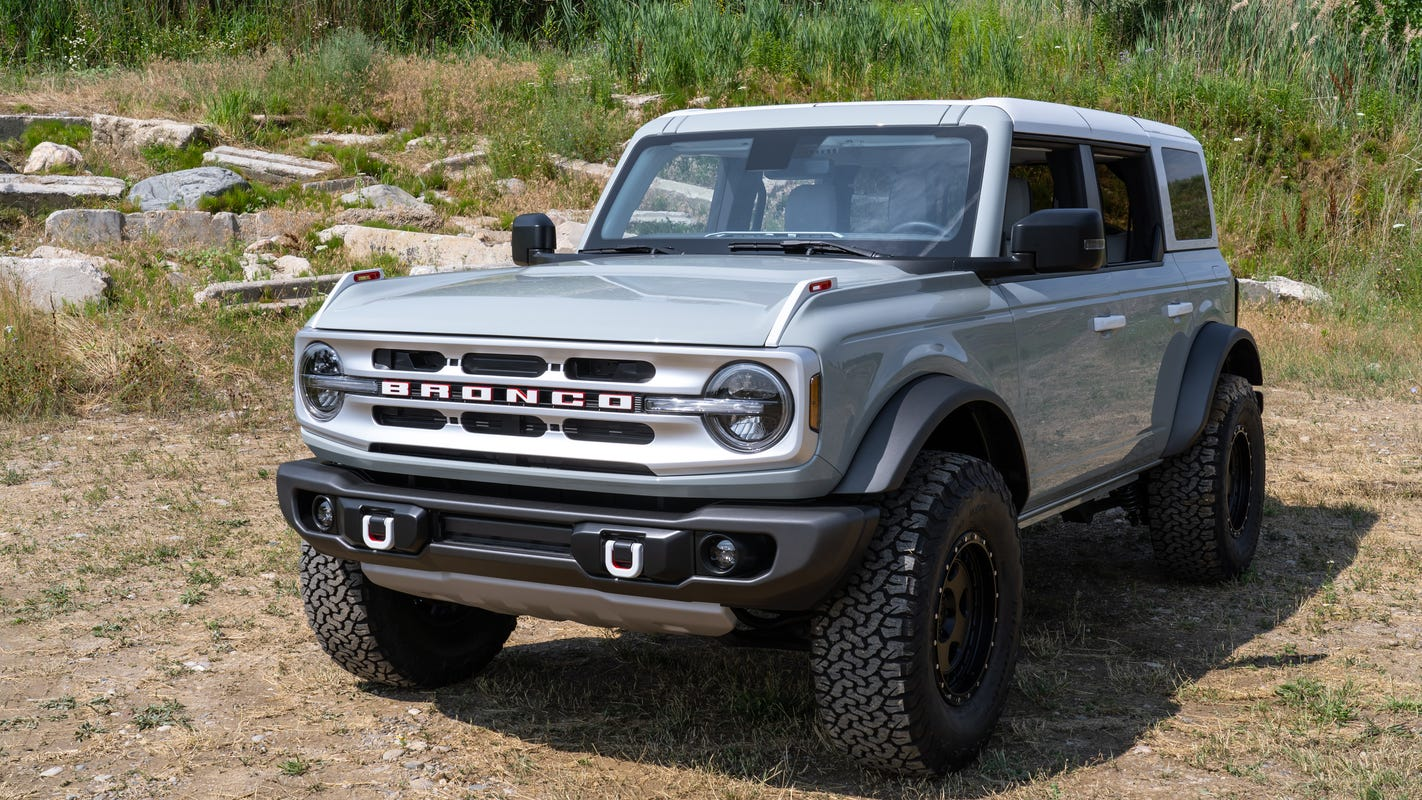 2021 Ford Bronco reveal: New features will make Jeep ...