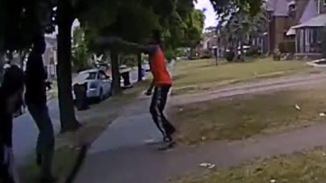 Protesters Berate Police After Detroit Officers Shoot Kill Man