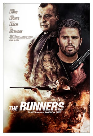 """The Hollywood action movie """"The Runners"""" will premiere Tuesday at Dairyland Brew Pub."""