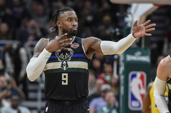 Bucks guard Wesley Matthews has set up his room at Disney World's Gran Destino Tower with his Xbox, some sweet-smelling scents that remind him of home and a picture of him with his daughter.