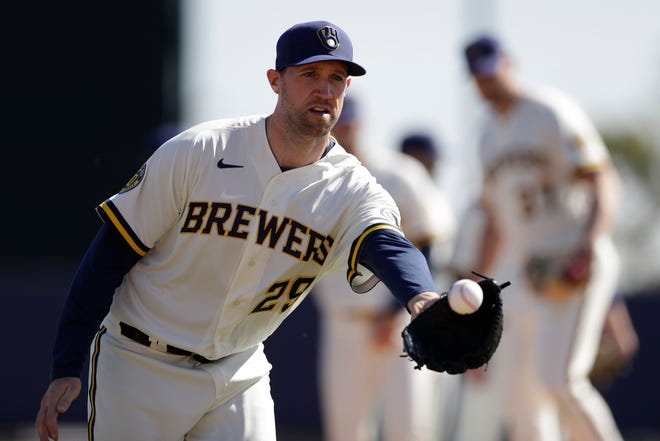 Pitcher Josh Lindblom said the Brewers have done a good job of getting the competitive juices flowing during Summer Camp.