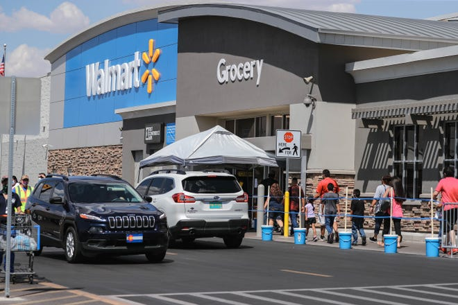 Walmart at 3331 Rinconada Blvd was closed briefly Saturday, July 11, 2020, after four workers tested positive for COVID-19. The store reopened Sunday.