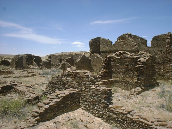 "The Kin Beneola is one of the Puebloan ruins at Chaco Culture National Historic Park, which will be featured in a livestream online event called "" America's Summer Roadtrip 2020"" on Aug. 1."