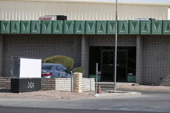 Level Up marijuana dispensary in Tempe on July 10, 2020.