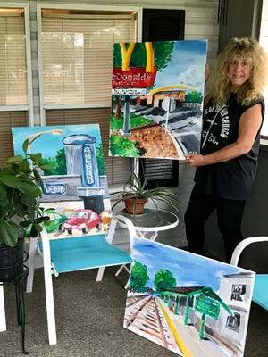 Local artist, Diane Dyal has been selected as a participant in an online exhibition in the Greenpoint Gallery Virtual Show.