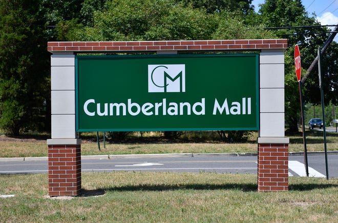 The Cumberland Mall in Vineland, N.J., pictured here on Thursday, July 10, 2020.