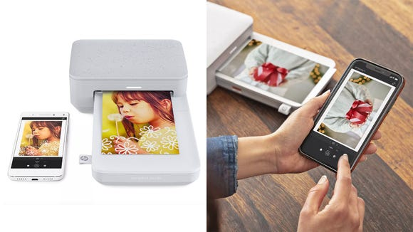 This photo printer is a great way to hold onto your favorite memories.