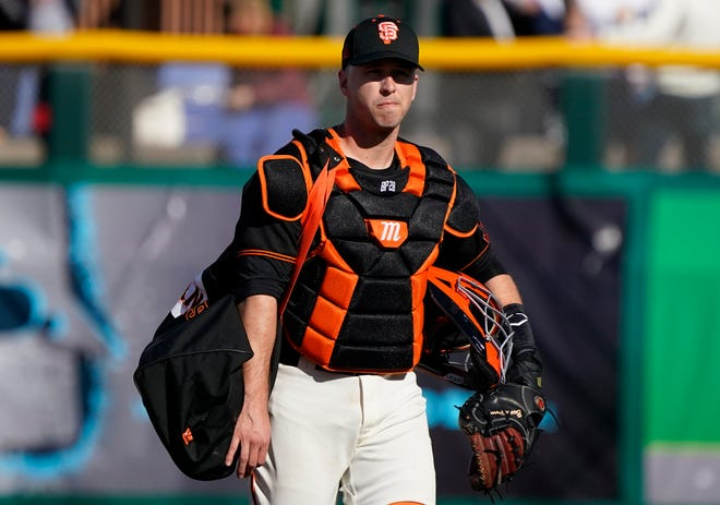 MLB: San Francisco Giants catcher Buster Posey.