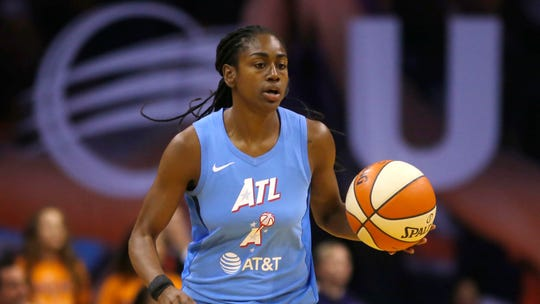 Atlanta Dream Guard Renee Montgomery will suspend the 2020 WNBA season to focus on issues of racial and social justice.