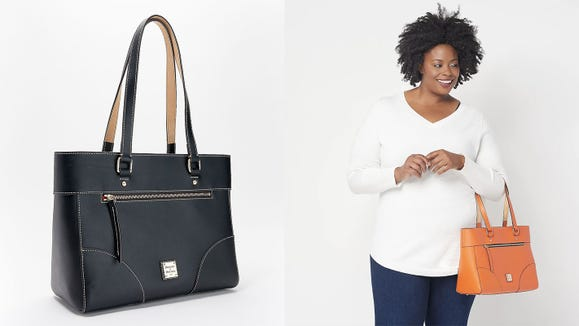 This classic Dooney and Bourke bag is on sale at a great discount right now.