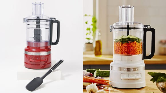 This food processor is like having an extra set of hands in the kitchen.
