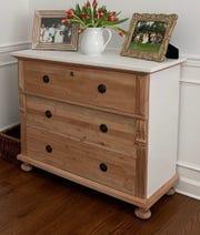 Kristin Spitale's refinished dresser.