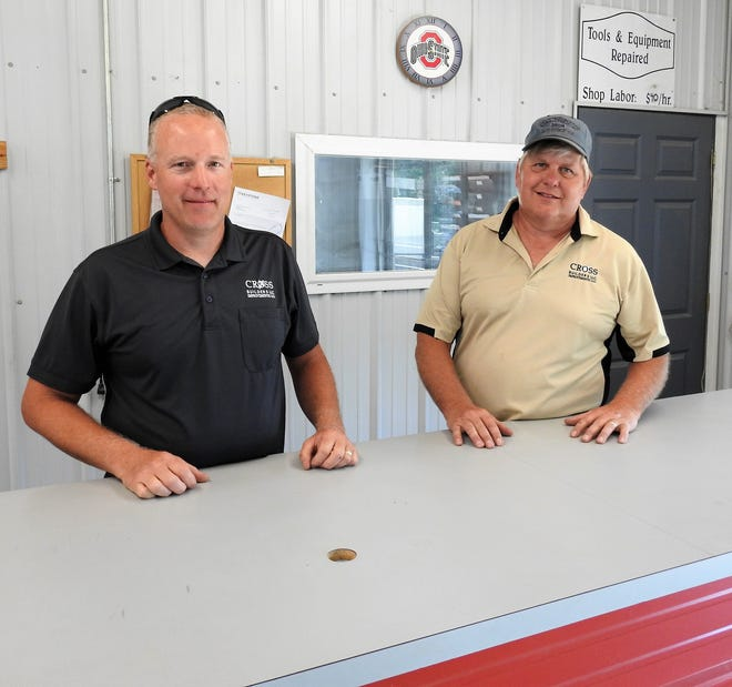 Tim Eberhard and Bill Dunfee started Cross Builders, as Cross Improvements, 20 years ago. Much of their business today centers around custom builds and they continue to work on home additions and upgrades for customers in Coshocton and surrounding counties.