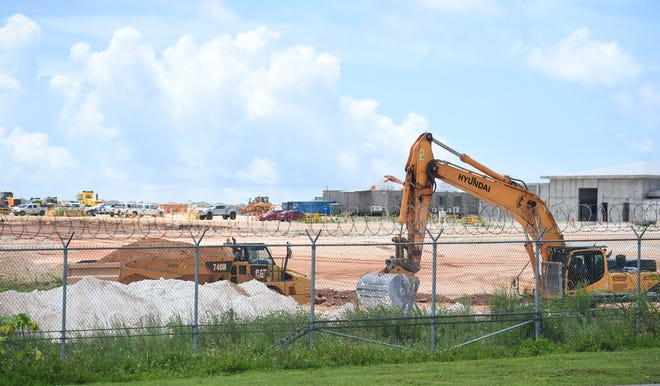 The Department of Public Health and Social Services put a halt to all construction projects starting at 5 p.m. Friday until further notice.