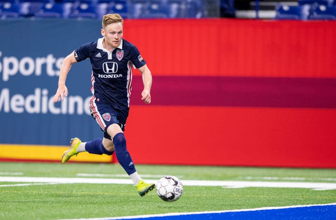 FILE – The Indy Eleven are undefeated this season when Tyler Pasher starts.