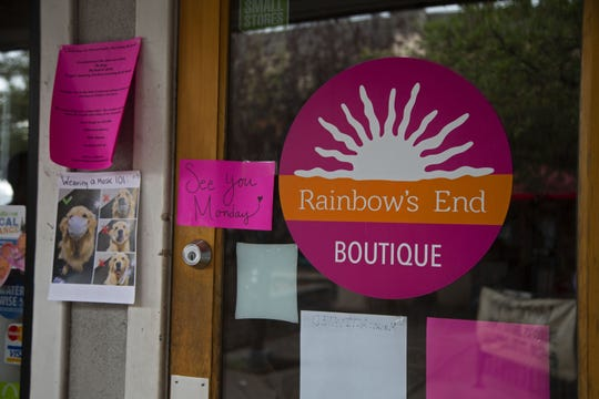 Rainbow's End Boutique is set to reopen Monday after a closure during the COVID-19 pandemic.