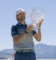 Mardy Fish won the ACC Golf Championship at the Edgewood Tahoe Golf Course in South Lake Tahoe on Sunday, thus winning the trophy.